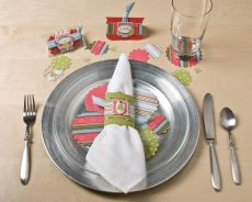 Holiday Place setting by Shelli G