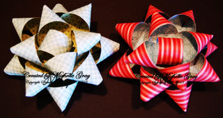 DSP gift bow with watermark