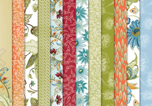 Paisley Petals Designer Series Paper