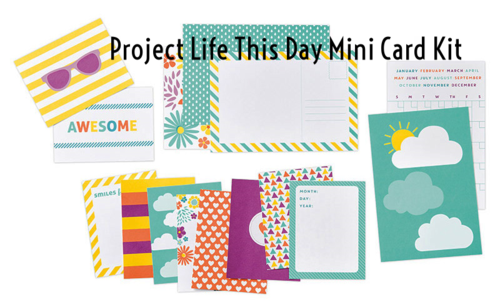 Project Life, This Day mini card kit