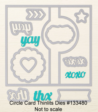 Circle Card Thinlits Die