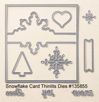 Snowflake Card Die