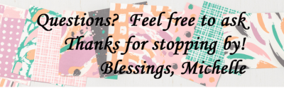 Blog sig block with text
