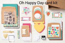 Oh Happy Day kit  labeled